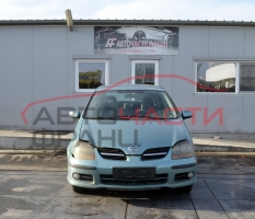 Nissan Almera Tino 2.2 Di 84 киловата 115 конски сили. Тип на мотора YD22DDTi