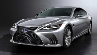 Lexus обнови флагманския седан LS от пето поколение