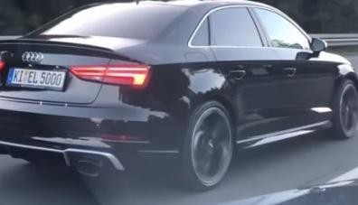 Седанът Audi RS3 се оказа по-бърз, отколкото го рекламират