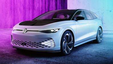 Volkswagen ще превърне концепта ID. Space Vizzion в серийно  комби Aero B