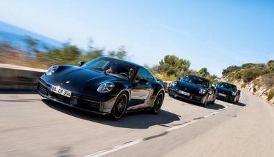 Porsche показа за първи път новия 911 Turbo на официални снимки