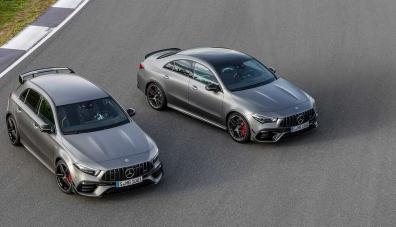 """Mercedes представи хотхеч и седан с най-мощната в света """"турбочетворка"""""""
