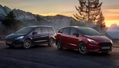 Ford изведе на европейския пазар S-Max и Galaxy с нова 190-силова хибридна инсталация