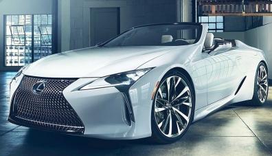 В Детройт идва новият Lexus LC кабриолет