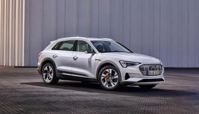 Новият сериен кросоувър Audi e-tron Sportback: първи изображения