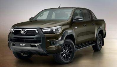 Toyota представи обновения Hilux
