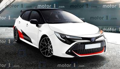 Toyota ще пусне 300-силна версия на Corolla