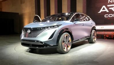 Nissan показа концепцията за нов кросоувър на шоуто в Лас Вегас