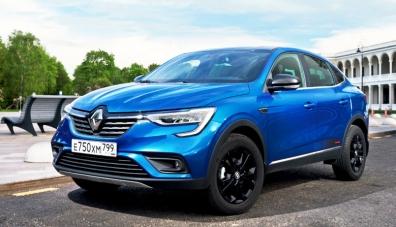 Кросоувър Renault Arkana: пулсът на времето