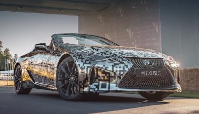 Кабриолет Lexus LC става сериен с мек покрив