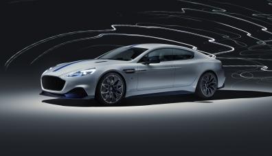 Лифтбекът Aston Martin Rapide E стана първия електрокар на марката
