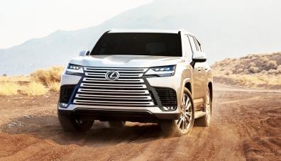 Lexus представи новото поколение SUV LX