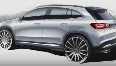 Най-евтиният кросоувър на Mercedes стана по-солиден и по-безопасен