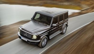 Mercedes потвърди разработката на електрически Gelandewagen