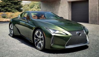 Представиха новото купе Lexus LC 500 в спецсерия Inspiration