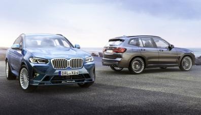 Обновените кросоувъри BMW Alpina XD3 и XD4 станаха по-мощни