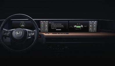 Honda показа салона на електрически хечбек