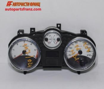 километражно табло Peugeot 207 1.6 HDI 90 конски сили 9662904980