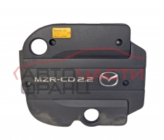 Декоративен капак двигател Mazda 6 2.2 MZR-CD 163 конски сили 2010г