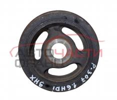 Демпферна шайба Peugeot 307 1.6 HDI 90 конски сили 9654961080J