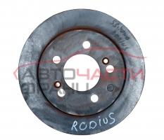 Заден спирачен диск SsangYong Rodius 2.7 Xdi 163 конски сили