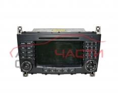 Навигация Mercedes C class W203 2.2 CDI 150 конски сили A2038701089