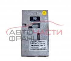 Модул аудио интерфейс Audi A4 2.0 TDI 170 конски сили 4E0035785F