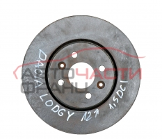 Преден спирачен диск Dacia Lodgy 1.5 DCI 90 конски сили