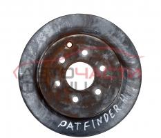 Заден спирачен диск Nissan Pathfinder 2.5 DCI 163 конски сили