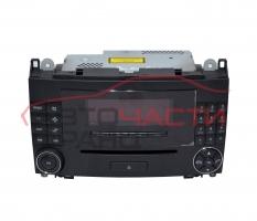 Радио CD Mercedes B class W245 2.0 CDI 109 конски сили A1698204789