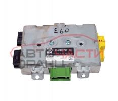 Airbag модул предна дясна врата BMW E60 3.0 D 218 конски сили 6135-695776201