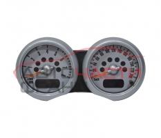 Километражно табло Mini Cooper 1.6 16V 90 конски сили 62116931391