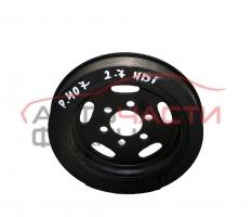 Демпферна шайба Peugeot 407, 2.7 HDI 204 конски сили