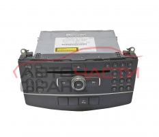 Радио CD Mercedes C class W204 1.8 kompressor 156 конски сили A2048700594