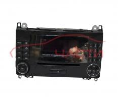 Радио CD Mercedes B class W245 2.0 CDI 109 конски сили A1698207589