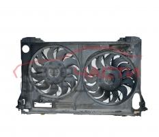 Перка охлаждане воден радиатор Audi A8 6.0 W12 450 конски сили