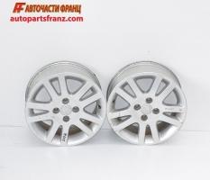 алуминиеви джанти 15 цола за Honda Civic / Хонда Сивик, VII 2000-2005 Г., междуболтово разстояние 4 х 100