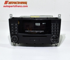 радио и cd за Mercedes Benz C Class / Мерцедес Бенц Ц Класа, W203 2000-2006 г.