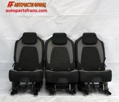 Втори ред седалки Citroen C4 Grand Picasso 1.6 HDI 115 конски сили