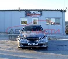 Mercedes E Class W211, E320 CDI 165 киловата 224 конски сили. Автоматична скоростна кутия. Автомобилът се предлага на части.