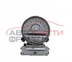 Километражно табло Mini Cooper S R56 1.6 Turbo 174 конски сили 62116977077