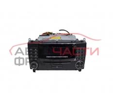 Радио CD Mercedes CLK W209 2.7 CDI 170 конски сили A2098700489