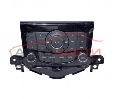 Панел радио CD Chevrolet Cruze 2.0 CDI 163 конски сили 95485438