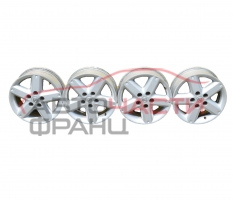 Алуминиеви джанти 16 цола Nissan X-Trail 2.2 DCI 136 конски сили