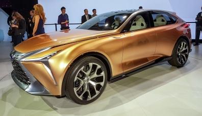 Lexus регистрира име за новия модел