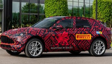 Първият кросоувър на Aston Martin ще получи портативна пералня
