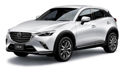 Обновената Mazda CX-3 има нов турбодизел