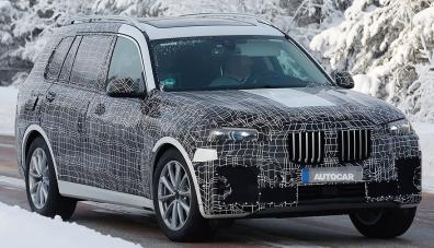 Новият BMW Х7 ще демонстрира сила и мощ в Лос Анджелис