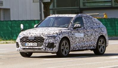 Audi започна тестовете на кросоувър Q5 с купеобразна каросерия