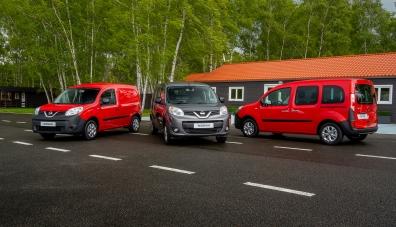 Компанията Nissan превърна Renault Kangoo в компактван NV250